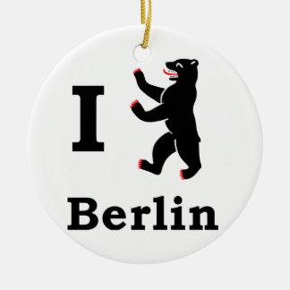 Berlin Bear Ceramic Ornament