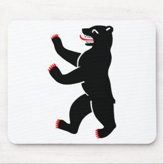 Berlin Bear Mouse Pad