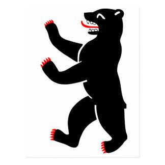 Berlin Bear Postcard