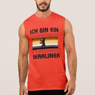 Berlin Bear Pride Ich Bin Ein Bearliner Sleeveless Shirts