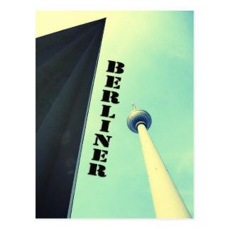 Berlín - berlinés TV Tower Postales