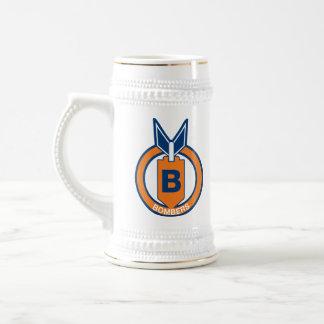 Berlin Bombers Team Logo Beer Stein