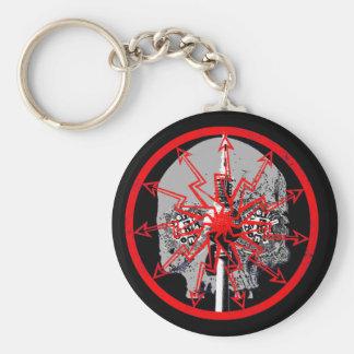 Berlin Bonez Skulltower Keychain