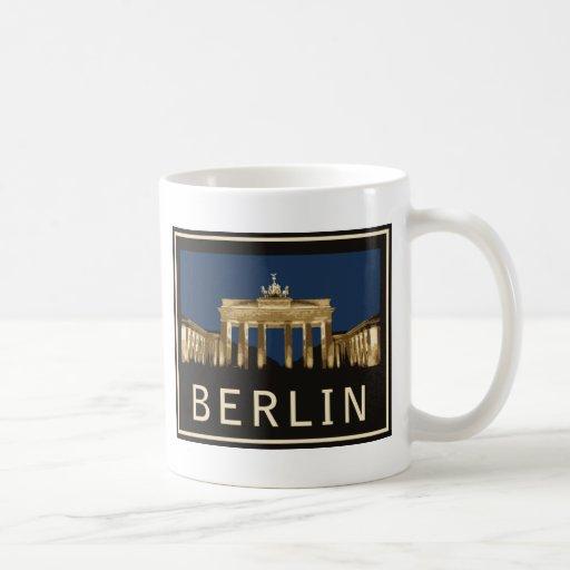 Berlin Brandenburg Gate Coffee Mugs
