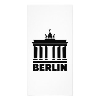 Berlin Brandenburg gate Photo Card Template