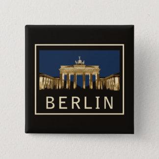 Berlin Brandenburg Gate Pinback Button