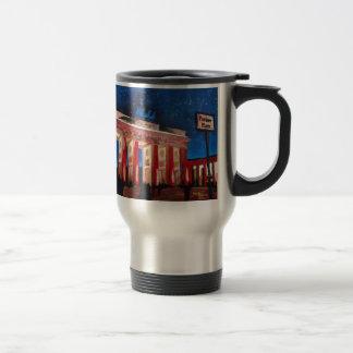 Berlin Brandenburg Gate With Paris Place At Nigh 15 Oz Stainless Steel Travel Mug