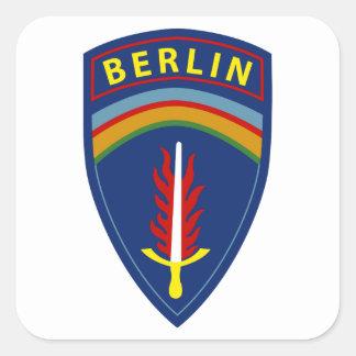 Berlin Brigade Square Sticker