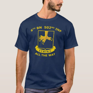 Berlin Brigade Vets 6/502 #1 T-Shirt