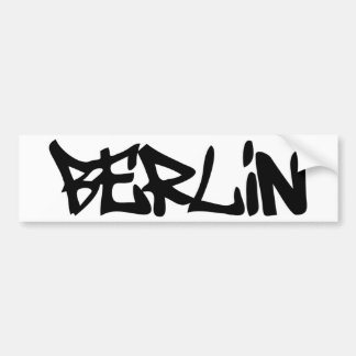 berlin bumper sticker