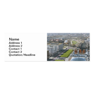 Berlin Double-Sided Mini Business Cards (Pack Of 20)