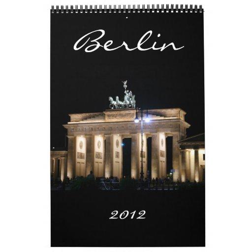 berlin calendar 2012