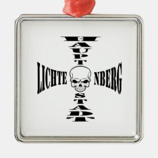 Berlín capital Lichtenberg Germany Adorno Navideño Cuadrado De Metal
