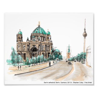 Berlin cathedral, Berlin, Germany (2013) Photo Print