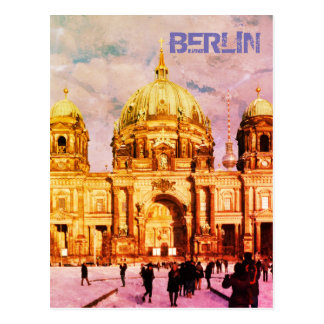 Berlin Cathedral, Berliner Dom 02.2.F.T, Germany Postcard