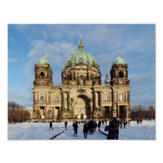 Berlin Cathedral, Berliner Dom Poster