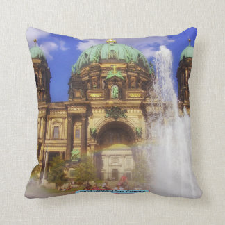 Berlin Cathedral Dom, Germany Throw Pillow