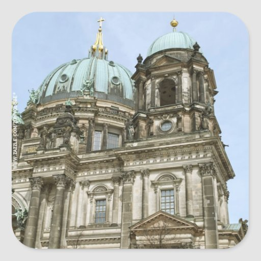 Berlin Cathedral Square Sticker
