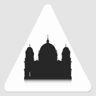 Berlin Cathedral Triangle Sticker