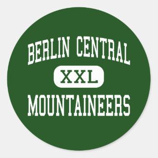 Berlin Central - Mountaineers - Cherry Plain Round Sticker