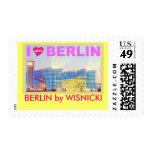 BERLIN Central Station Postage