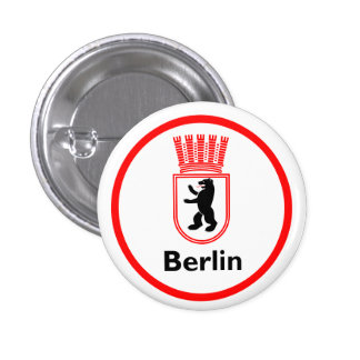Berlin city arms (GDR) 1 Inch Round Button