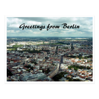berlin city postcard