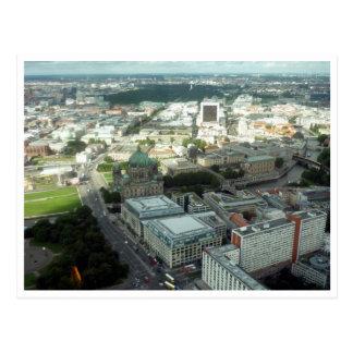 berlin city view postcard