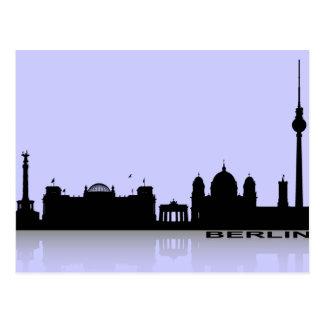 Berlín Cityscape_2 Tarjeta Postal