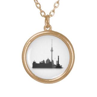 Berlin Cityscape Custom Necklace