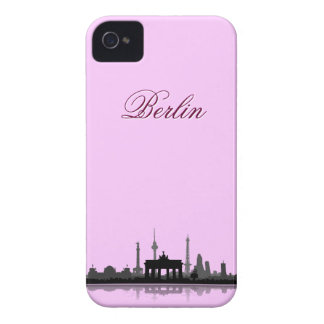 Berlín ciudad horizonte - iPhone 4 revestimiento p Case-Mate iPhone 4 Carcasas