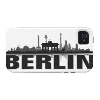 Berlín ciudad horizonte - iPhone 4 revestimiento p Case-Mate iPhone 4 Carcasa