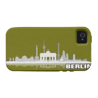 Berlín ciudad horizonte - iPhone 4 revestimiento p Vibe iPhone 4 Carcasa