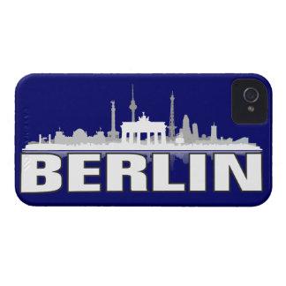 Berlín ciudad horizonte - iPhone 4 revestimiento p iPhone 4 Cárcasa