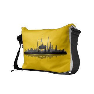Berlín ciudad horizonte - las bolsas de correo, bolsa de mensajeria