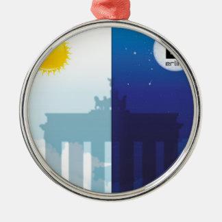 Berlín con día y noche - Brandenburger portería Ornamentos Para Reyes Magos