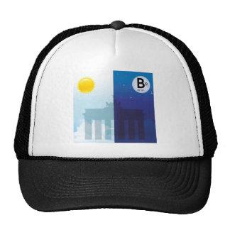 Berlín con día y noche - Brandenburger portería Gorro