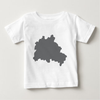 Berlin contour icon baby T-Shirt
