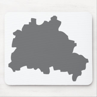 Berlin contour icon mouse pad