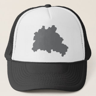 Berlin contour icon trucker hat