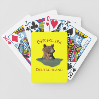 Berlin, Deutschland Bicycle Playing Cards