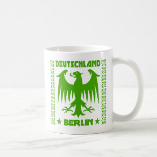 Berlin Deutschland German Eagle [Green] Mug