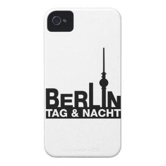 Berlín día y noche Case-Mate iPhone 4 carcasa