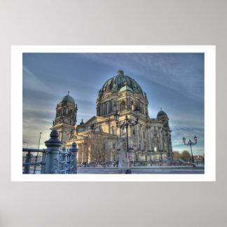 berlin dom poster