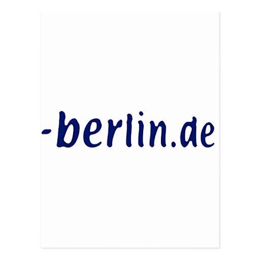 Berlin Domain - berlin.de Postcard