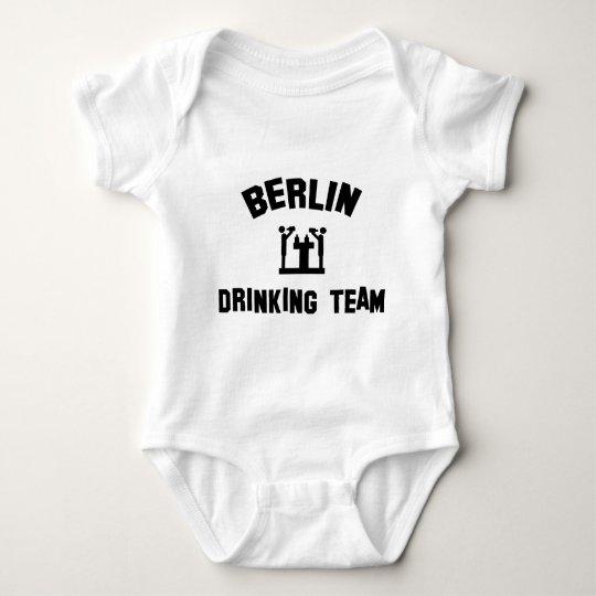 berlin drinking team baby bodysuit