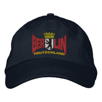 Berlin Embroidered Baseball Hat