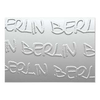 Berlín en el Bas-Alivio (1) Invitación 12,7 X 17,8 Cm