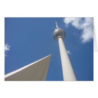 berlin fernsehturm angle card