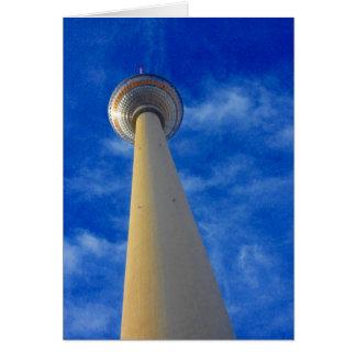 berlin fernsehturm blue card